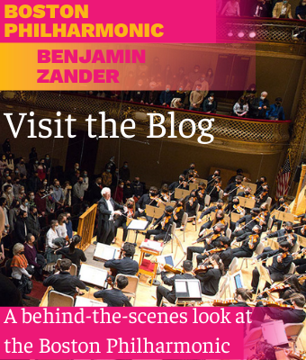 Visit the blog to get to know the music and musicians of the Boston Philharmonic