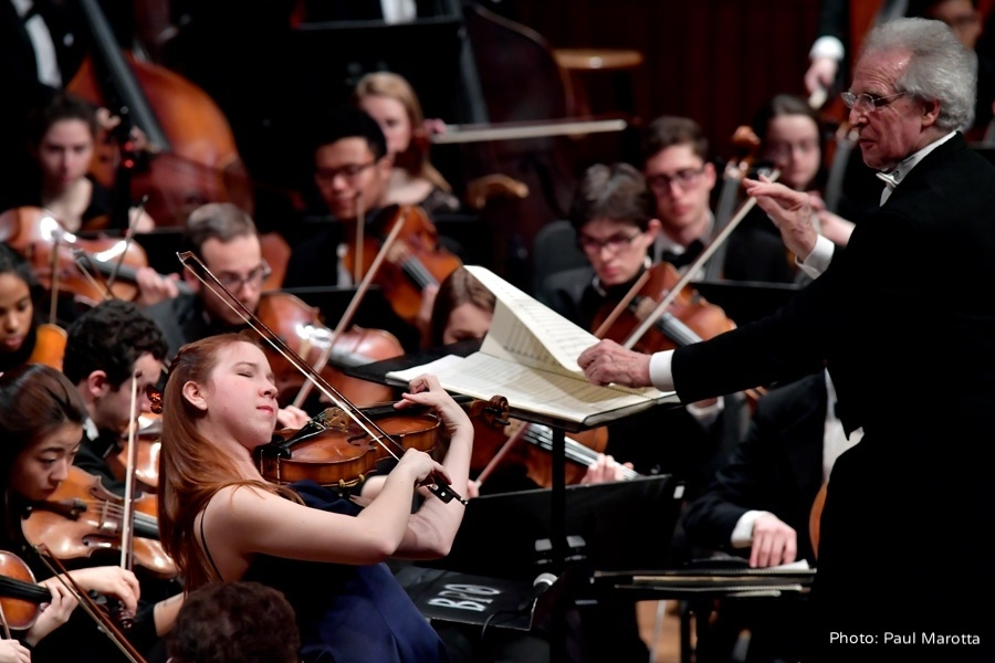Gold Star Concerto performances complement the BPYO's Premiere of Gandolfi's Ballet Ruse